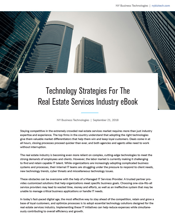 real estate services ebook